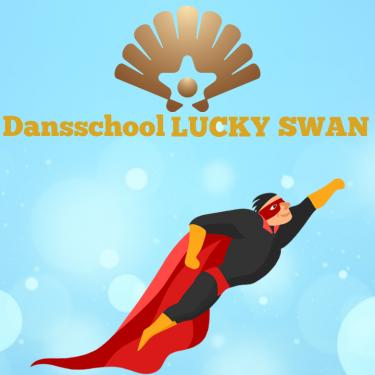 Logo Dansschool Lucky Swan